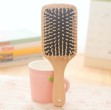 High Quality Schima Airbag Massage Comb Wooden Cushion Anti-static Comb Strengthen Memory Relax Neural Hair Scalp Massage Comb