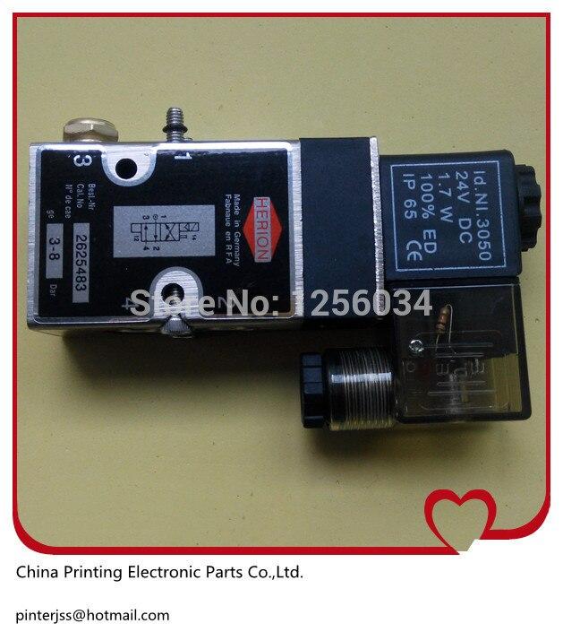 1 piece 98.184.1051/01 Heidelberg 4/2-way valve, 61.184.1051, 98.184.1051<br>