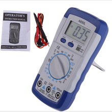 Backlight Blue WHITE  A830L LCD Digital Multimeter DC AC Voltage Diode Freguency Multitester