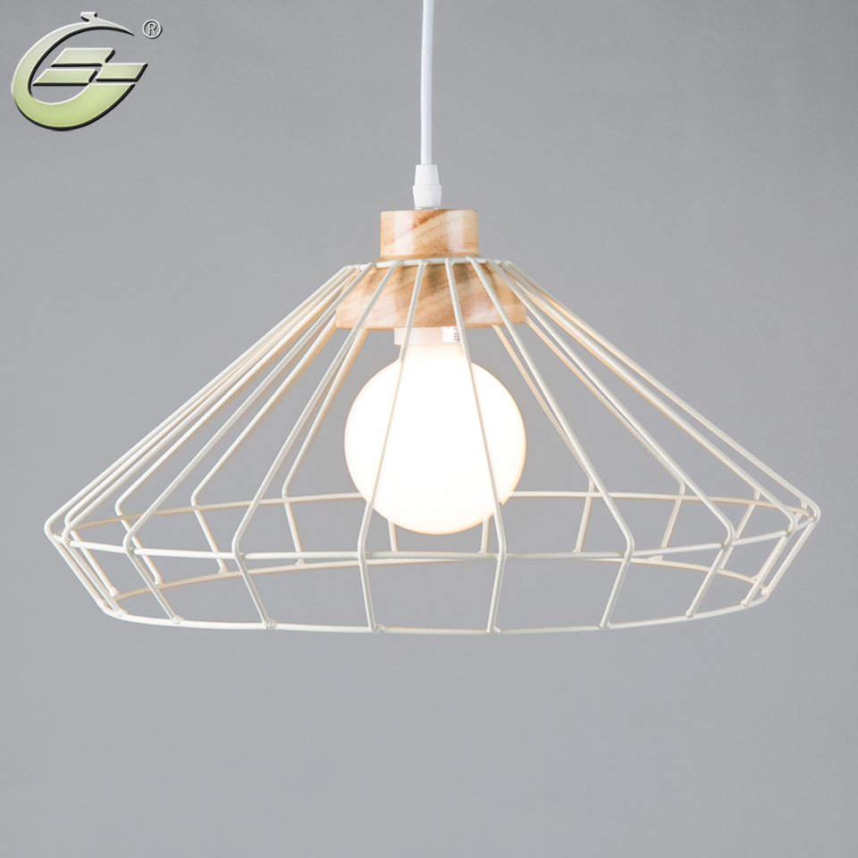 Vintage Iron Pendant Light E27 Bulb Home Decoration for Living Room Restaurant Cafe Art Indoor Hanging Lamp Fixture<br>