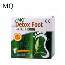 MQ 120Pcs=60pcs Patches+60 pcs Adhesives Detox Foot Patch Bamboo Vinegar Fooot Pads Improve Sleep Beauty Slimming Patch(China)