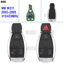 WALKLEE Vehicle Remote Smart Key Mercedes Benz W211 4MATIC CDI E200 E220 E230 E240 E270 E280 E320 E350 E400 E500 E550