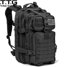 34L Molle Military Backpack Waterproof Military Assault Backpack 3P Attack Backpack Army Patrol Double Shoulder Rucksuck(China)