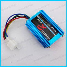 Blue Racing AC CDI Ignition box GY6 for DIO 50 Elite Moped scooter Motocross Motorcycles Go Kart