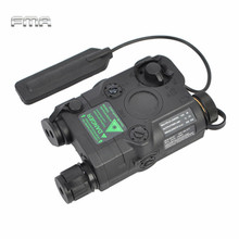 Airsoft Tactical AN/PEQ-15 Green Dot Laser with White LED Flashlight Torch IR illuminator For Hunting Outdoor Black/Tan(China)