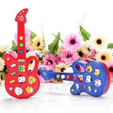 Baby Electronic Guitar Toy Nursery Children Kids Rhyme Developmental Music Toy