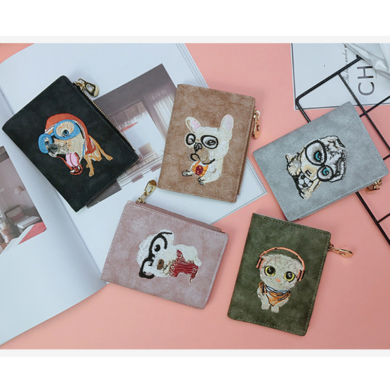 YOUNNE Women Wallets PU Leather Card Holders for Girls Wallet Bag for Card Holder High Quality Coin Purse Solid Carteira Feminin09