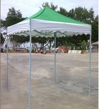 2*2 meters beach tent, outdoor canopy, painting iron frame, with roof