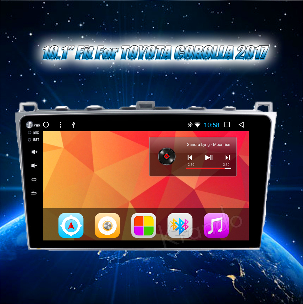 Krando Android car radio gps navigation multimedia system for Mazda 6 2008 2009 2010 2012 2011