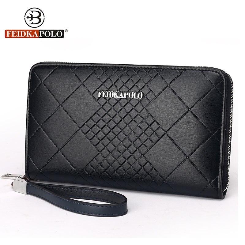Famous Brand Wallets Men clutch Bags Fashion Monederos Carteras Mujer Leather Purse Mens Clutch Wallets Handy Bags Man Wallets<br><br>Aliexpress