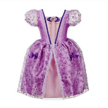 White Snow Clothing Cinderella Dress Baby Girl Clothes Kids Party Cosplay Dress Children 2 3 4 5 6 7 8 Years Old Cartoon Dresses