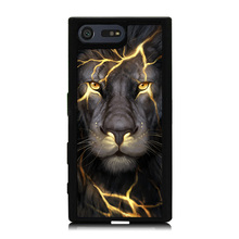Buy Light Lion King Printed Mobile Phone Case Cover Sony Xperia X XZ X Compact Z5 Z5 Compact Soft TPU Skin Hard Back Shell Cover for $4.98 in AliExpress store