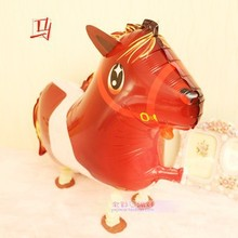 10pc  Horse balloon walking balloons animals inflatable air ballon for party supplies kids classic toy 64*43cm