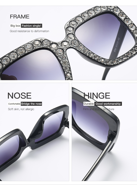 rhinestone sun glasses for women luxury brand 7080 details (9)