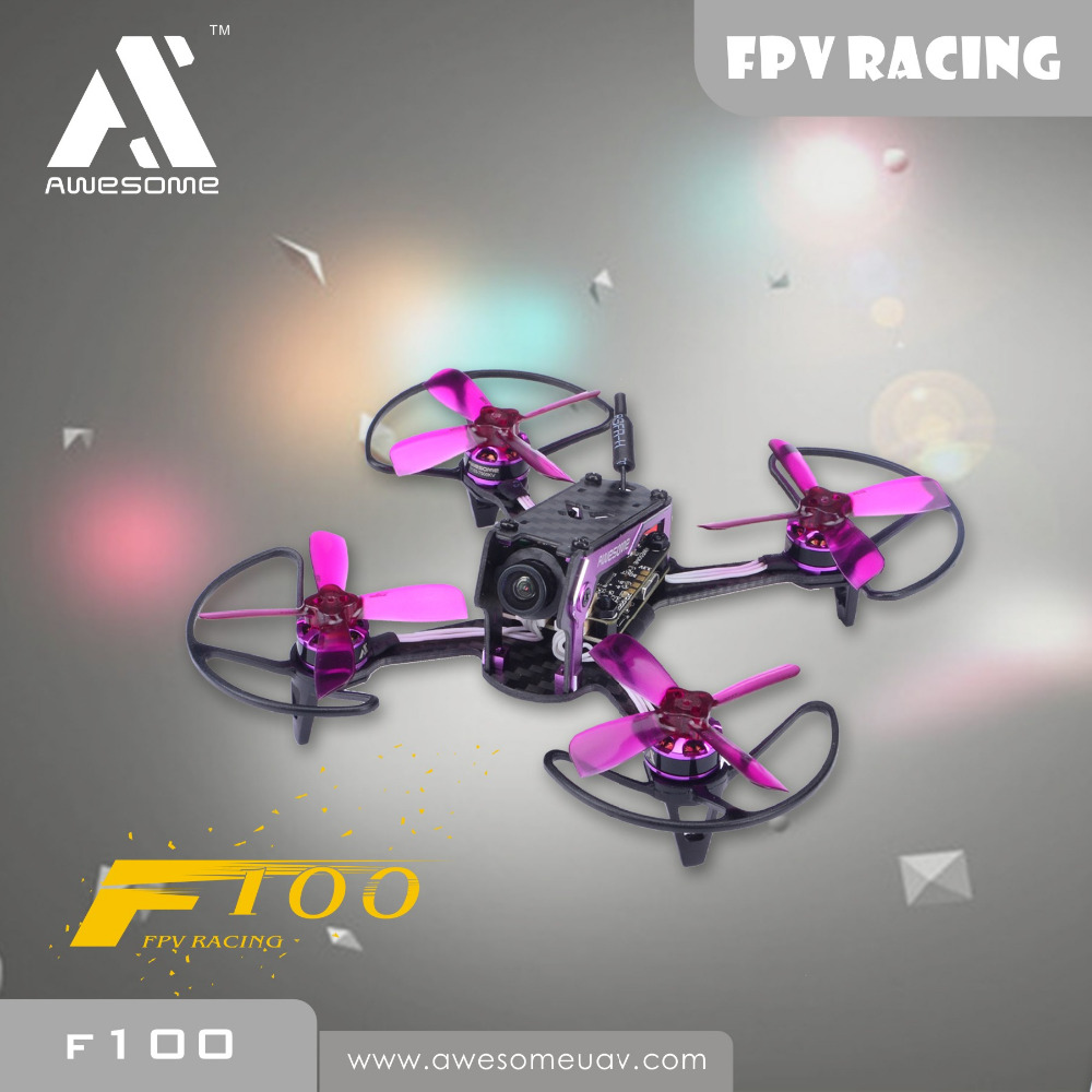 New Version Awesome F100 mini FPV Racing Quadcopter Drone PNP RC Drone
