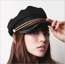 Korea fashionable woman baseball cap 2014 new black 1 Piece wholesale