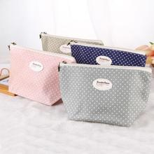 Fashion simple Portable Travel Cosmetic Bag Makeup Case Pouch Toiletry Wash Organizer small cosmetic bag necessaries