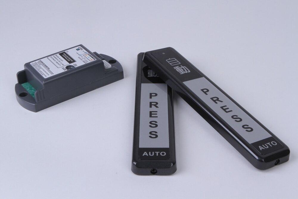 M-202EWireless 5M range AC/DC12-36V push exit button switch /touch sensor switch automatic sliding door gate<br>