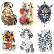 Wholesale 600packs Latest Original Arm Leg Body tattoos QS Cartoon Anime Comic-Con temporary tattoo Art tatuajes free shipping