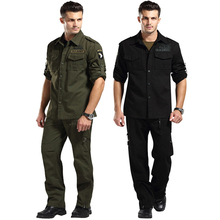 Buy US Army 101 Airborne Suit Jacket + Pant Tactical Militar Crossfit Bomber Airsoft Uniform Mens Special Forces Combat Clothes Sets for $46.80 in AliExpress store
