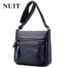 NUIT 2017 Genuine Leather Female Bags High Quality Women Handbags Sheepskin Crossbody Bags for Women Shoulder Bag Sac a main(China)