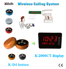 Ycall brand portable coffee shop waiter calling system