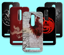 Ice and Fire Cover Relief Shell For Asus Zenfone 2 ZE500CL Cool Game of Thrones Phone Cases For Asus zenfone 2 ZE551ML