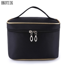 High quality beautician makeup bag ladies brushes necessities travel cosmetics accessories storage box cosmetic bag(China)
