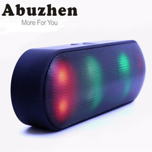 Abuzhen 1800mAh Bluetooth Speaker Mini Portabl Speaker MP3 Player Portable Speaker for Phone Computer Wireless Bluetooth Speaker(China)