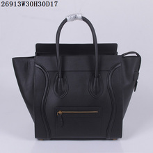 Classic style BW Designer Genuine Leather celine luggage Bags Ladies Famous Brand Women Handbags High Quality bags(China)
