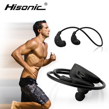 Hisonic Bluetooth Headset bluetooth earphone With Mic For iPhone Earbuds auriculares deportivos Earphones wireless headphone(China)