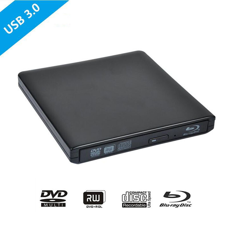 Bluray USB 3.0 External DVD Optical Drive Blu-ray ...