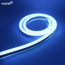 SXZM AC220V Neon led strip light SMD5050 80led/M Fairy lighting IP67 Waterproof with EU plug,RGB controller Outdoor decoration