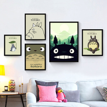 Famous Cartoon Animal Canvas Mural Drawing No Frame Decorative Picture Nordic Wall Poster Children Bedroom Art Painting Ornament