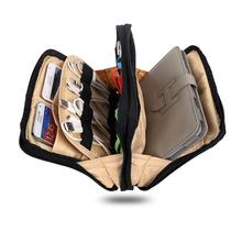 Portable Bag For iPad Air Tablet USB Power Cable Storage Carry Case Organiser Handbag Bag Travel Tablet Handbag
