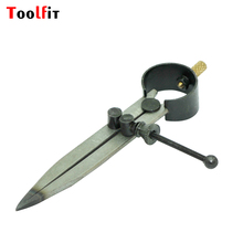 Toolfit Compass Divider  117mm for jewelry tools and machine Adjustable Wing Divider Edge Creaser DIY Leather Hand Craft Tool