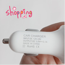 car charger usb car sticker for citroen c4 seat leon fr renault scenic 2 mini cooper volvo s60 megane 2 golf 4 Accessories(China)