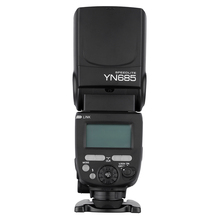 Buy YONGNUO YN685 N/C Flash HSS 1/8000s 2.4G GN60 Wireless Speedlite TTL Speedlight Canon Nikon DSLR Cameras for $104.81 in AliExpress store