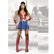 Hot Online Sexy Adult Wonder Woman Cosplay Costume Woman Costumes for Women Outfit Comics Sexy Halloween Costumes Fancy Dress