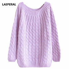 Women Sweaters O-neck Pullovers Regular Solid Flat Knitted Pinks Sweaters Women And Pullovers Sweaters  2016 Women 1PC Free Size