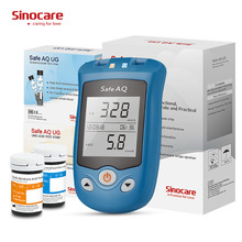 Medical-Devices Uric-Acid-Meter Blood 50-Test-Strips Sinocare Safe UG Pregnant-Glucometer