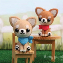 Mini Cute DIY Dog Plush Toys Phone Chain Dog Plush Toys Keychain Car Bag Pendant Doll Plush Toy Children's Day Handmade Gift