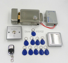 DIY Full Kit Set Electric Lock 125KHz RFID  ID Card Reader Access Control System Security Kit