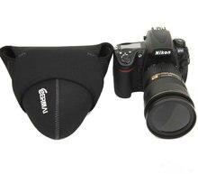 UPGRADE Lens Bag DSLR Camera Lens Protector Pouch Case Bag NIKON CANON SONY PENTAX BLACK