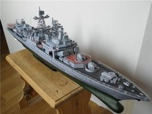 Paper Model Harlem Russia Dreadnought missile destroyer Admiral Liefuqinke