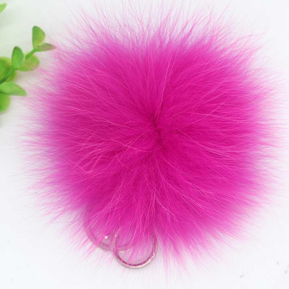 small fox fur pompom 11
