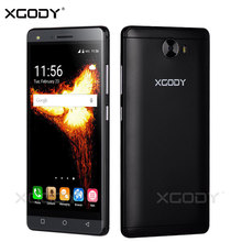 XGODY 5.0 Inch Smartphone Android 5.1 Quad Core 8GB ROM Camera Dual Sim Cards Touchscreen Telefone Celular 3G Cheap Cell Phones(China)