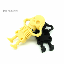 Fashion skeleton man style USB flash drive 4G 8G pen drive 16G 32G usb stick pendrive real capacity memory stick creative gift(China)