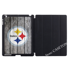 Pittsburgh Steelers American Football Smart Cover Case For Apple iPad Mini 1 2 3 4 Air Pro 9.7