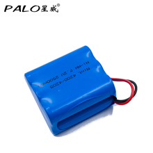 PALO New Battery 7.2V NIMH 2500mah Vacuum Mopping Robot Rechargeable Battery Pack For Mint 4200 4205 iborot braava 320 321 etc.(China)